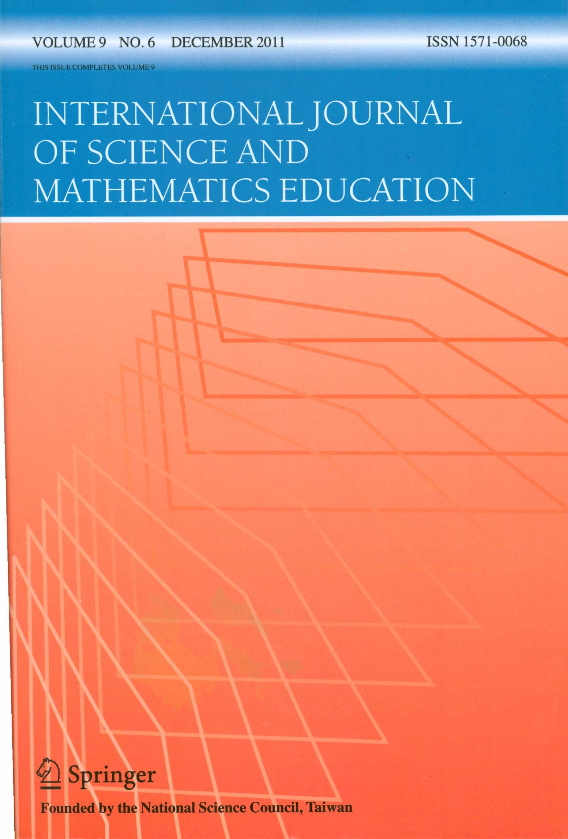 International Journal of Science and Mathematics Education (科學與數學教育研究)